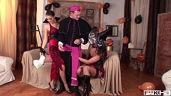 simony diamond &amp_ lucy belle fuck a priest.