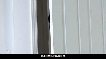 badmilfs - step-mom jacks off and.