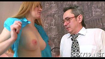horny older teacher is seducing babe&#039_s.