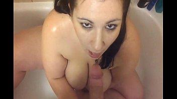 pissing on busty bbw wife