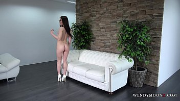 wendy moon is posing completely  naked in.