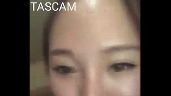 beautiful asian girl sucking small dick