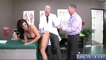 sex tape with doctor and horny slut patient.