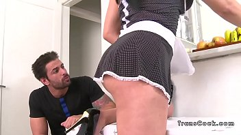 dude anal bangs tranny maid from.