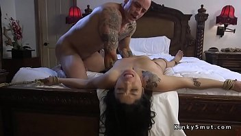 gagged slave anal fucked doggy