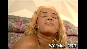 black babe feels chubby rod of ebony thug.