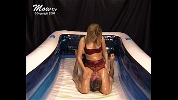 mixed oil wrestling - 007 - sexy submission.