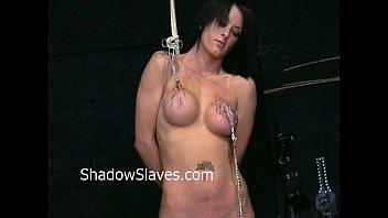 busty danii blacks nipple tortures and big tit clamping