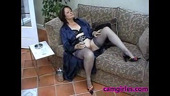 suzie mature solo stockings free masturbation.