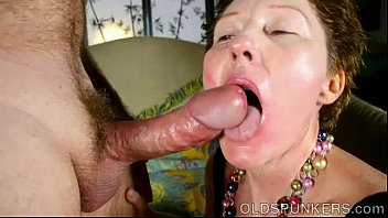 super cute older lady loves to suck cock.