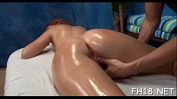 tiny drilled hard by her massage.