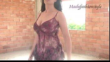 latin milf model posing