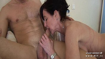 naughty french mom cougar fucked by a boy.
