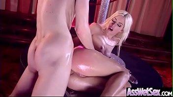 (jessie volt) big oiled ass girl enjoy deep.