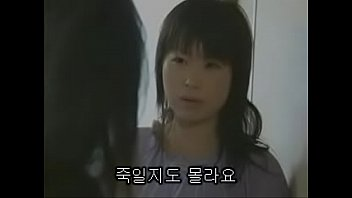 japanese younger sister watches her elder bitch sister.