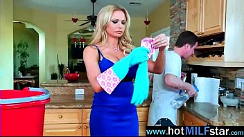 (briana banks) gorgeous milf busy riding huge dick.