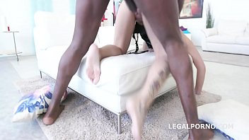 tattooed whore candela x gets rough anal interracial.