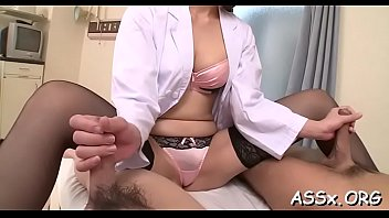 cute asian with ass-ramming thrills several schlongs with blowjob
