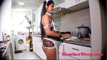 19 week pregnant thai teen heather deep in.