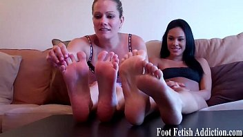 stroke it for soft feet and.