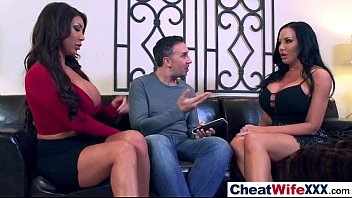 superb cheating wife (august sybil) in hard style.