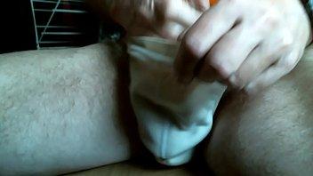 wanking undie ejaculation cum cumming solo-boy.