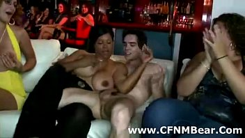 male strippers get blowjob from cfnm girls at.