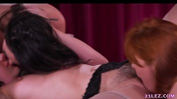 naughty lesbian threesome with penny pax, karlee grey.
