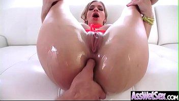 (bibi noel) big butt girl love deep anal.