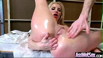 deep anal sex on tape with big round.