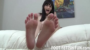 my feet will make your big cock so.
