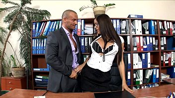 office secretary fucked in stockings and.