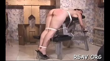 infirm young cutie gets totaly tied up and strapped