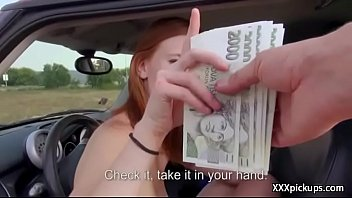 amateur teen fuck tourist for cash from public.