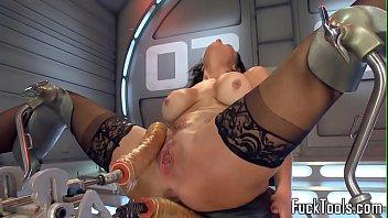 anal toying ebony babe squirts dildo.