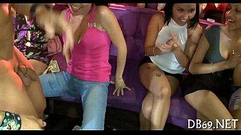 dark male stripper at bachelorette party