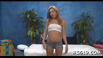 captivating massage girl strips demonstrating her.