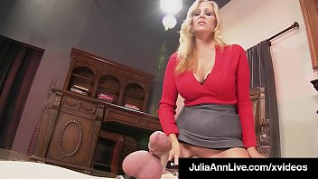 mommy dearest julia ann punishes her boy toy.