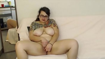 inked bbw rayne spitfire with huge boobs and.