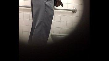 spying old man at restroom