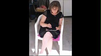 isabelle en petite robe noire