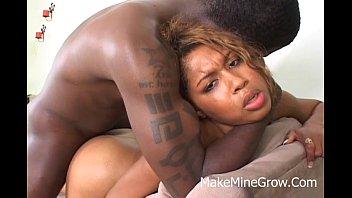 hot ebony doamond star screwe in the ass.