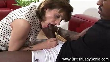 horny mature lady sonia sucks on.