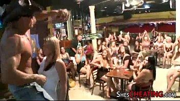 party girls enjoy male-stripper