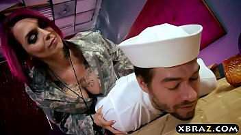 navi boy fucks his huge boobs officer anna.