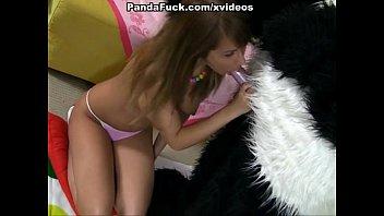 playing with teddy bear ran hot.