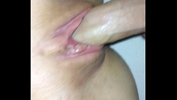 fucking my gf'_s wet pussy while.