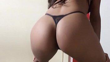 sexy wife dancing in thong