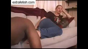 black guy foot worship