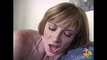 a dirty redhead named allison wyte gets pounded.